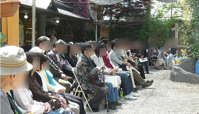 写真:慰霊祭のお写真