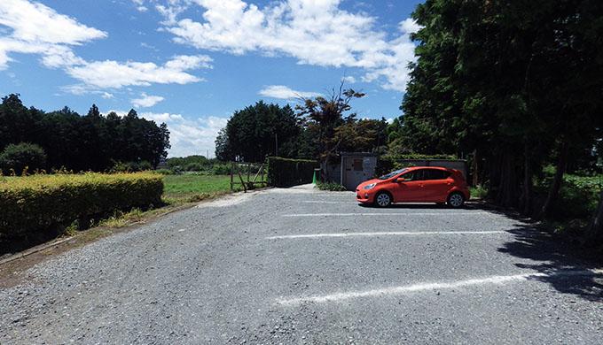 写真:駐車場