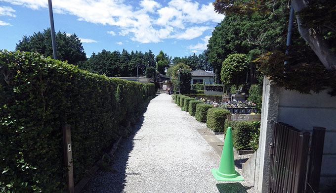写真:園内正面